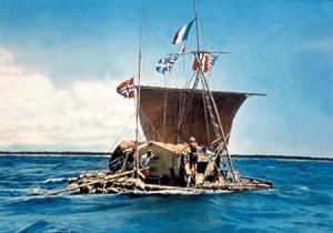 Le radeau de l'expédition du Kon-Tiki