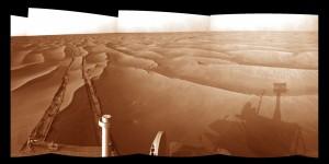 Mars vue par Opportunity