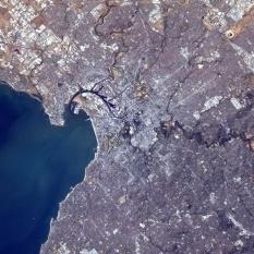 """""""Melbourne, Australia, clear as a bell. An amazing harbor!"""""""
