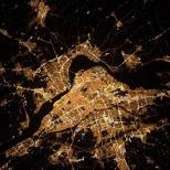 """""""Montreal, you're shining bright, it must be @hockeynight in Canada"""""""