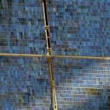 """""""The Station Solar Arrays serve a vital function, but also make a lovely mosaic when aligned in concert with the sun."""""""