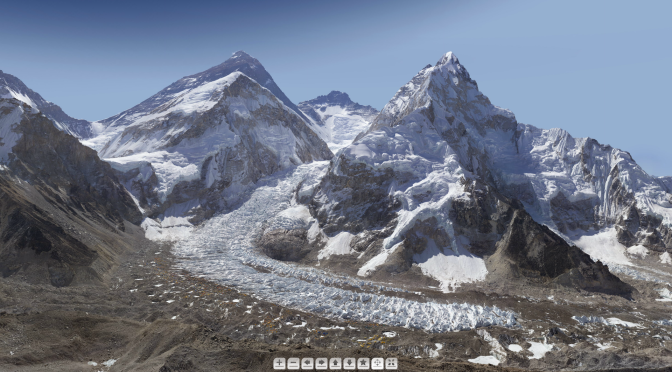 Londres et l'Everest en milliards de pixels [Photos]