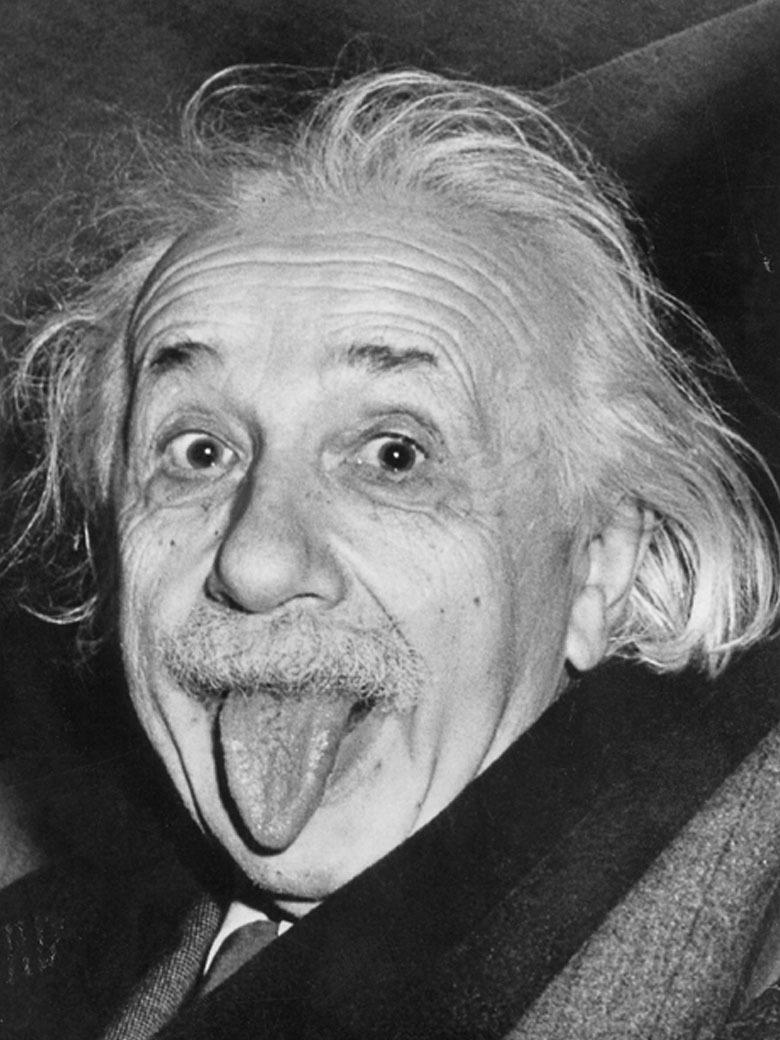 Heureusement Einstein ne se laisse pas faire...