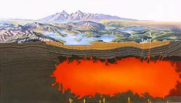 Yellowstone quand l 39 ruption du supervolcan for Chambre magmatique