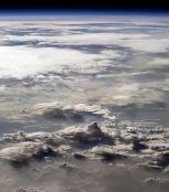 Nuages au dessus de l'Afrique
