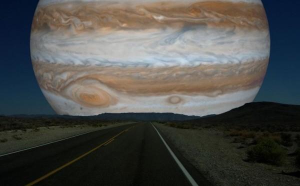 Jupiter a rendez-vous avec la Lune !