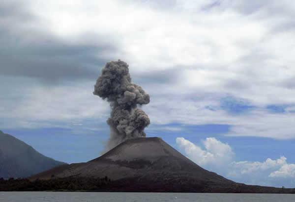 Krakatoa aujourd'hui