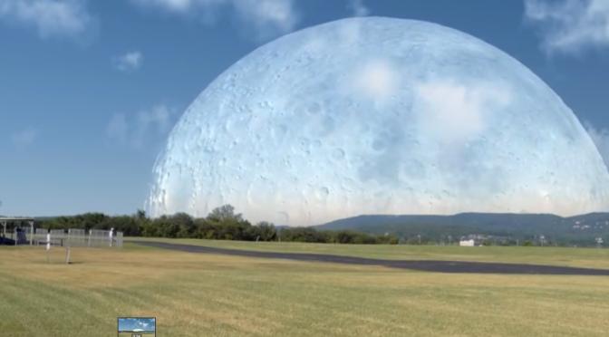 Et si la Lune se trouvait à 420 km de la Terre ?