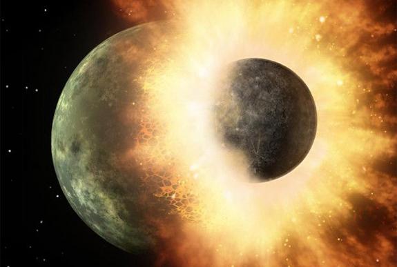 Naissance de la lune