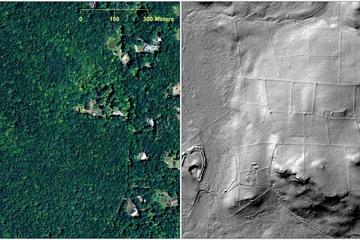 Découverte d'un site archéologique enfoui en Nouvelle-Angleterre