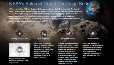 NASA Asteroids Grand Challenge