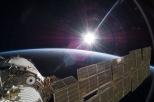Lever de soleil depuis l'ISS