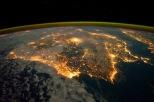 L'Espagne depuis l'ISS