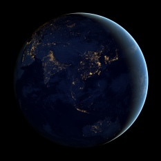 la Terre de nuit