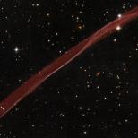 """Reste de """"supernova"""", cliché pris par Hubble"""