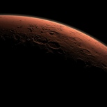 Lever de soleil sur Mars