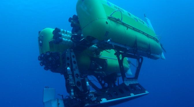 Mais où est donc passé Nereus, le «yellow submarine» ?