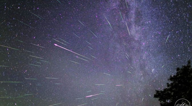 Pluie de météorites attendue pour le 23 mai