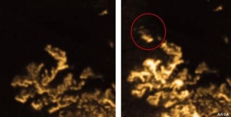 ile Titan Saturne