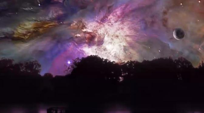 Voici à quoi ressemblerait notre ciel si la nébuleuse d'Orion était dans les parages [Vidéo]